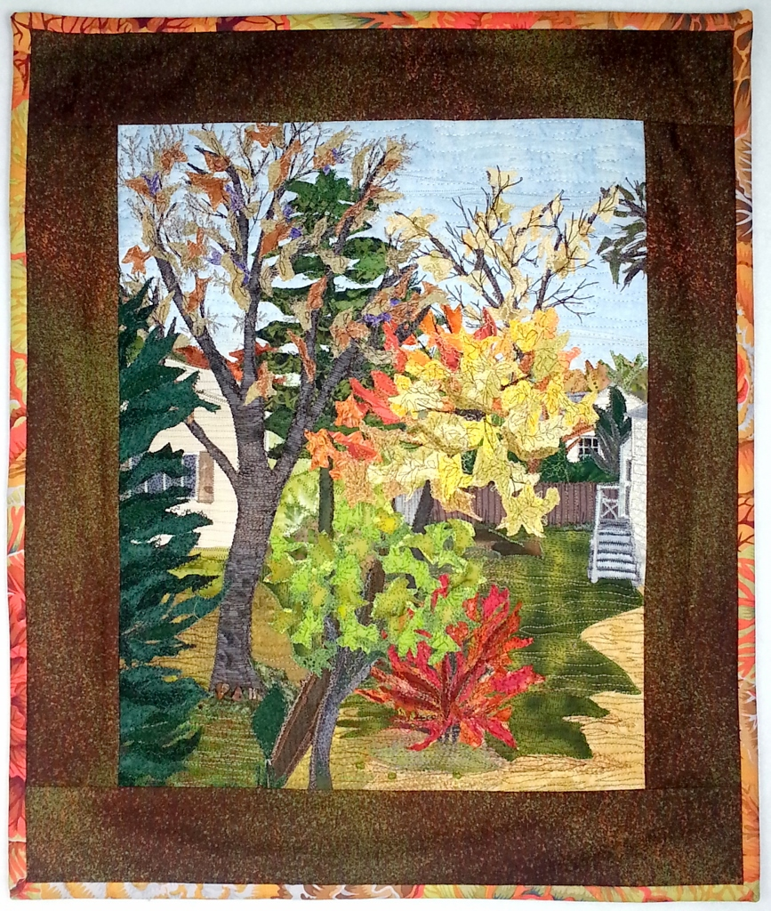Autumn Outside my Window 15.5in. x 18.5 in. (867x1024)