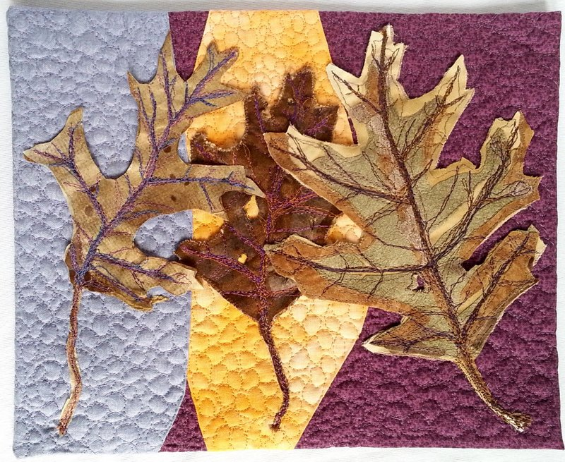 Beautiful Oak Leaves 10in. x 8 in.