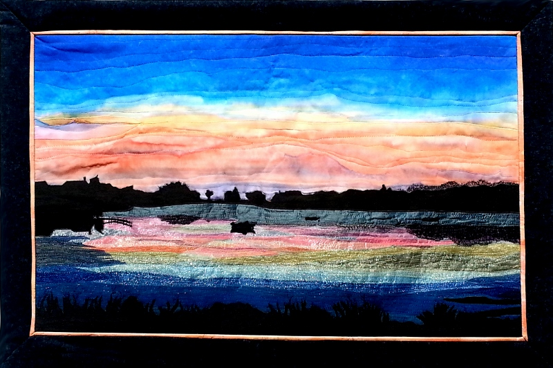 Snug Harbor Sunset; West Falmouth 23 in. x 34 in (800x532)