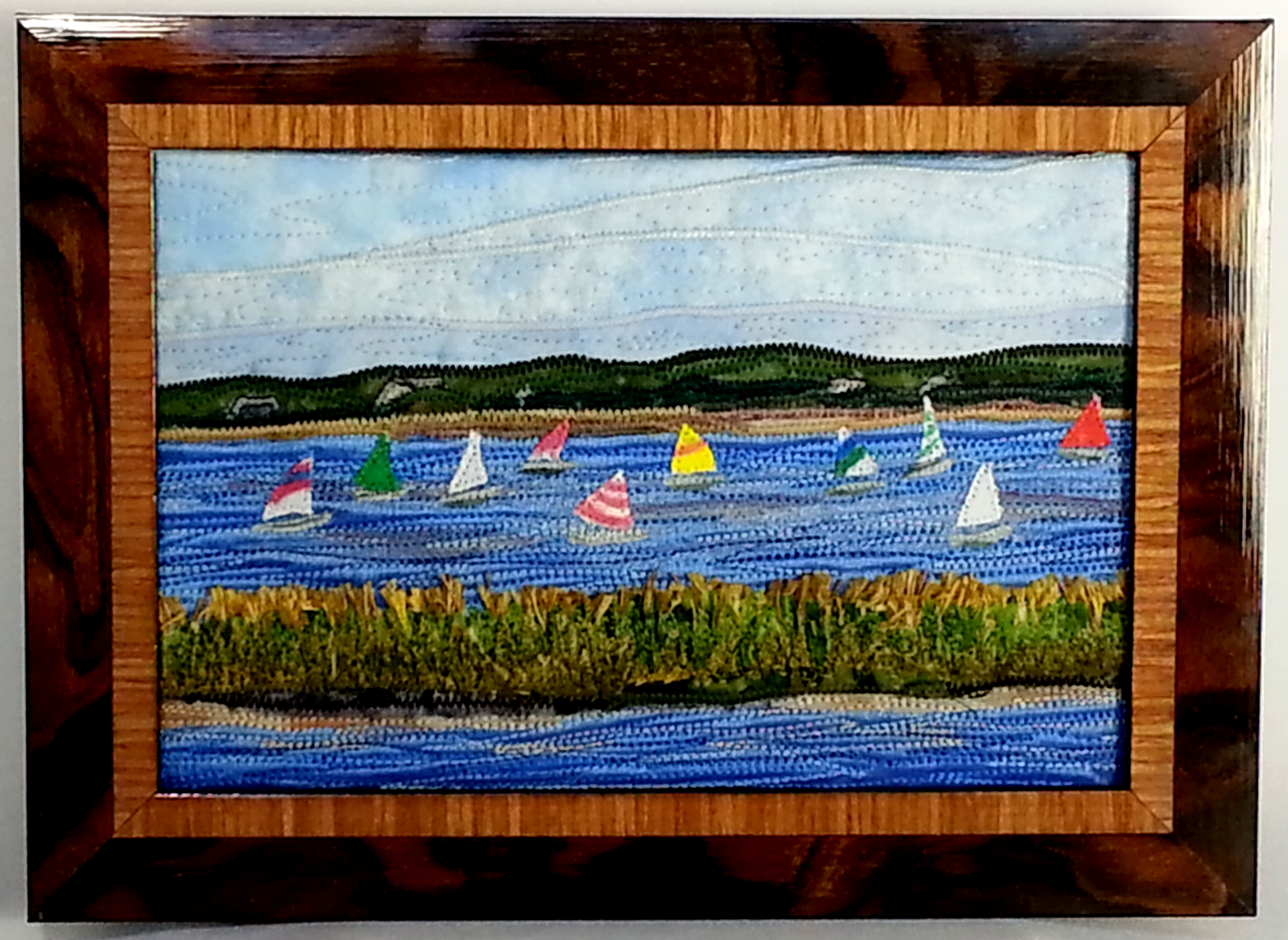 Beach Regatta 4in. x 6in.