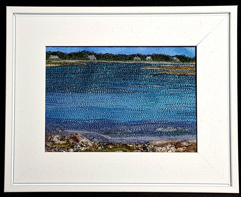Small Ripples 5 in. x 7 in